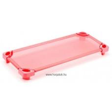 Ultrakönnyű óvodai fektetőágy - rózsaszínű - szereletlen