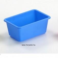 Műanyag tároló - kék