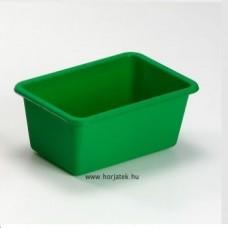 Műanyag tároló - zöld