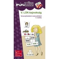 LM-V.LÜK bajnokság-matematika 4. osztály