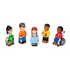 Speciális igényű emberek- minifigurák