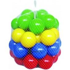 Medencefeltöltő labda,színes   6cm- 50 db-os