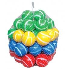 Medencefeltöltő labda, csíkos     7cm