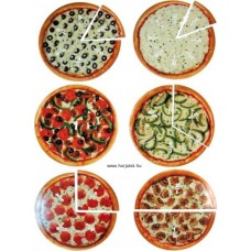 Mágneses Törtek (pizza)