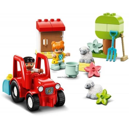 Farm traktor és állatgondozás - DUPLO
