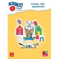 Logico Primo-Festék, olló, építőkocka