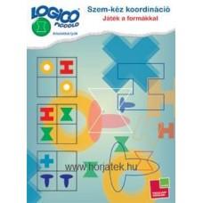 Logico Piccolo-Szem-kéz koordináció: Játék a formákkal