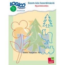 Logico Piccolo-Szem-kéz koordináció: Nyomkövetés