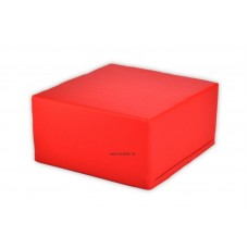 Ülőke - puff - piros