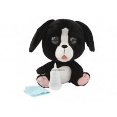 Pityergő kiskutya állatorvosi szett fekete