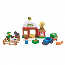 Vidám farm játékfigura készlet