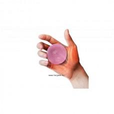 Kézerősítő gél labda - extra lágy - rózsaszín
