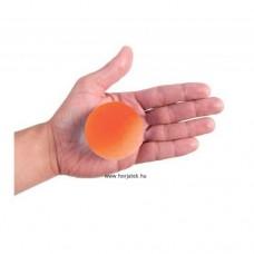 Kézerősítő gél labda - kemény - narancssárga
