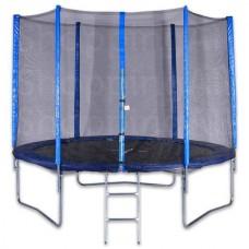 Trambulin védőhálóval 250 cm,létrás