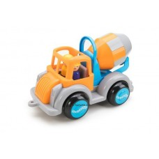 Betonkeverő autó figurával