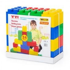 Óriás építőkocka, 24 darabos