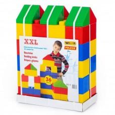 Óriás építőkocka, 36 darabos
