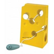 Egér a sajtban fűzőcske