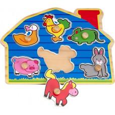 Fogantyús puzzle - Farm