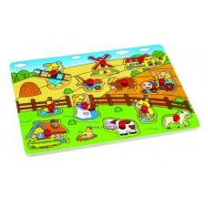 Fogantyús Puzzle - Élet a farmon
