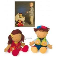 Öltöztetős babák - Niki és Dávid