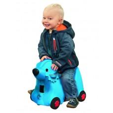 Bébitaxi Bőrönd - Kék