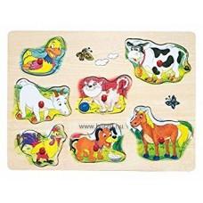 Hangot adó puzzle-háziállatok