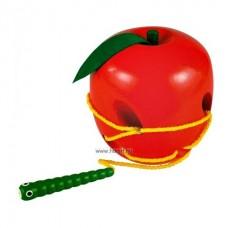 Kukac az almában fűzőcske